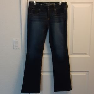 👖 AMERICAN EAGLE OUTFITTERS WOMENS BOOT CUT JEANS